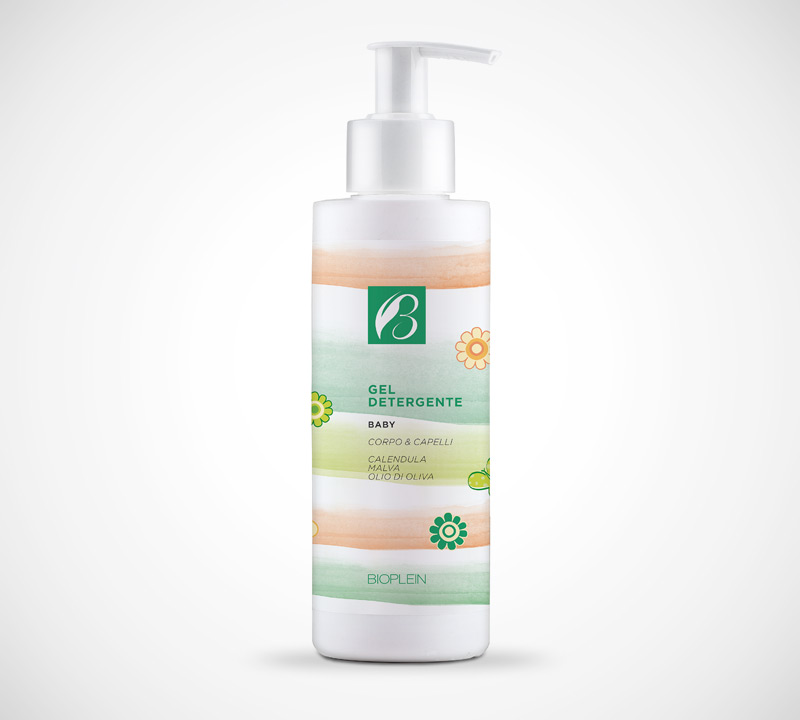 Gel detergente corpo capelli Baby 200 ml
