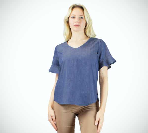 Enrica blusa jeans Pure Girl